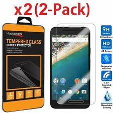 2x  Premium Real Tempered Glass Screen Protector For Google LG Nexus 5X 2015