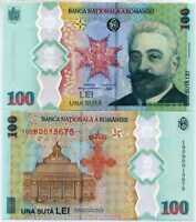 ROMANIA 100 LEI 2019 / 2020 P NEW POLYMER COMM. UNC NO FOLDER