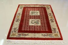 Super Fine Vintage Chinese Aubusson Rug 4'x 6' 100% Wool 75% OFF GREAT PRICE!!!