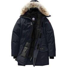 EUC 100% Auth Canada Goose Langford Fur Down Parka Black Large