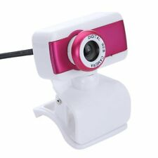 USB 2.0 HD Webcam Camera 1080P With Microphone for Computer PC Laptop Rose LW