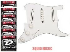 Seymour Duncan Dave Murray Pickguard White Hot Rails & JB Jr. ( 6 STRING SETS )
