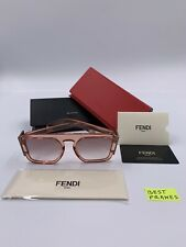 New Sunglasses FENDI FF0381S 35J3X Pink Square Frame New Collection