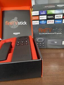Amazon FireTV Stick (1st Generation) Black Used Complete With Remote W87CUN