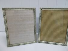 "Kw-267 2 Ornate Gold Metal Picture Frames Embossed Etched Photo Decor 8""x 10 is"