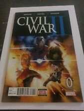 CIVIL WAR II #0 SECOND PRINTING NM+