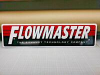 "FLOWMASTER Logo Aluminum sign  6"" x 24"""
