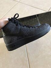 Nike Mens Air Force 1 Ultra Flyknit Mid 817420-001 Dark Grey Shoe Size 9