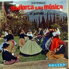 Mallorca Y Su Musica - Agrupacion El Parado LP VG+ BELTER 44 104 Vinyl Record