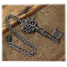 Steampunk Antique Style Key Gear Necklace (Museum Replicas Limited)