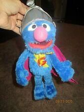 "2011 Playskool 15"" Talking Super Grover - Sesame Street - Hasbro - Free Shipping"