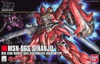 BANDAI HGUC 1/144 MSN-06S SINANJU Plastic Model Kit Mobile Suit Gundam UC Japan