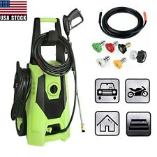 3000PSI 1.8GPM Electric Pressure Washer High Power Cold Water Washing Machine
