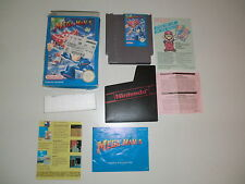 Nintendo NES Game Mega Man 5 Slipcase Boxed Instructions EUROPE VERSION Module