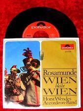 Single Horst Wende Accordeon Band: Rosamunde