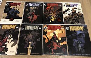 HELLBOY THE WILD HUNT # 1 - 8 Full Set Dark Horse Comics 2008 Hellboy BPRD Bulk