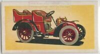 1902 Peugeot Antique Auto Car c55+ Y/O Trade Ad Card
