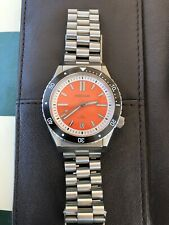 Borealis Olisipo Dive Watch Orange Dial With Date, Miyota 9015 Movement