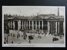 Ireland DUBLIN College Green & Bank of Ireland - Old Postcard by Woolstone Bros