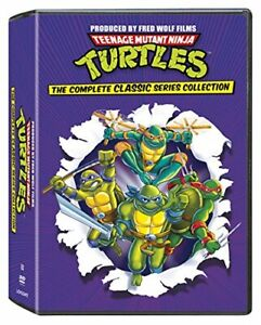 Teenage Mutant Ninja Turtles TMNT Complete Classic Series DVD Collection New