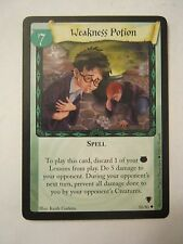 Harry Potter Weakness Potion #7, Spell Game Card 50/80 Good Condition (011-15)