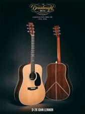 Martin guitare D-28 JOHN LENNON Natural pour 75.geburtstag de John