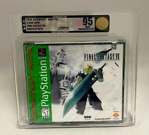 FINAL FANTASY VII 2000 Squaresoft Sony PS1 Playstation SEALED 3-Disc Game VGA 95