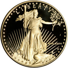 1986-W American Gold Eagle Proof 1 oz $50 - Coin in Capsule