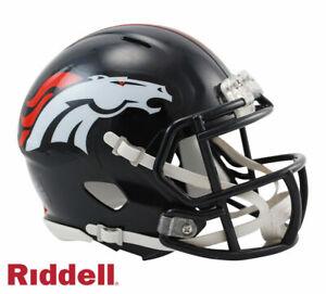 Denver Broncos Speed Riddell Mini Helmet New in box
