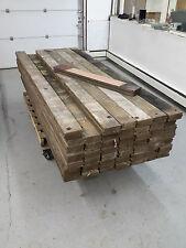 RECLAIMED Mohogany Railcar RUSTIC SOLID wood barn lumber old growth quarter sawn