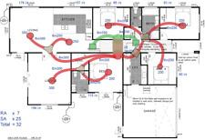 Heater Design gas Ducted Heating DIY Install Brivis Braemar TQ420 TQ320 TQ315 mm