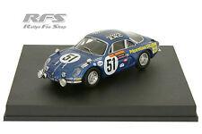 1:43 renault alpine a110-Collomb/lacarreau - 24h Le Mans 1968-trofeu 0805