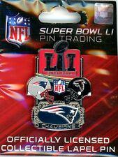"New England Patriots Super Bowl LI Champions Medium Pin Champs 51 Wincraft 1.75"""