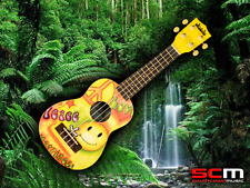 Brand New MAKALA by Kala Ukadelic Peace and Love Soprano Ukulele FREE P+H!