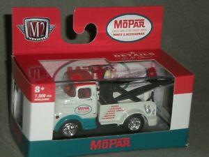 1/64th M2 Machines Auto Trucks R61 1957 Mopar Dodge COE Tow Truck