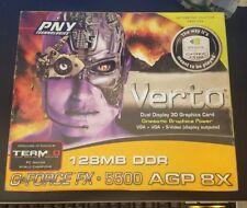 PNY Verto GeForce FX 5500 (VCGFX55APB) 128MB DDR SDRAM AGP 8x Graphics Adapter