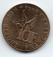 France - Frankrijk - 10 Franc 1988