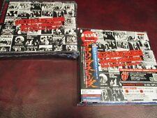 ROLLING STONES SINGLES JAPAN REPLICA RARE OBI CD BOX Set W/ STICKERS + JEWEL BOX