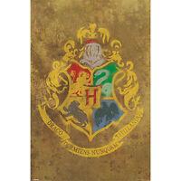 Harry Potter - House Sigils POSTER 61x91cm NEW * Gryffindor Slytherin Ravenclaw
