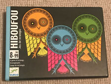 HIBOUFOU - RARE CARD STRATEGY GAME BY DJECO FRANCE. Superb Complete Example Wow