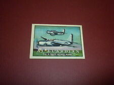 WINGS trading card #39 Topps 1952 - Friend or Foe - aircraft planes jets U.S.A.