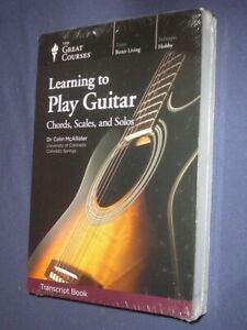 Teaching Co Great Courses TRANSCRIPTS :   LEARNING TO PLAY GUITAR   new & sealed