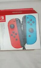 EMPTY BOX ONLY - Official Nintendo Switch Joy-Con Packaging -Red/Blue a