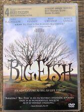 Big Fish - Dvd - Very Good Tim Burton