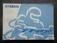 2007 TT-R50EW Yamaha Original Owners Manual TT R50 EW C3