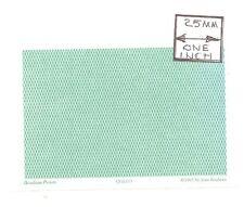 O (1/48) Scale - Lattice Reverse, Hunter - QGE111 Wallpaper miniature 3pcs