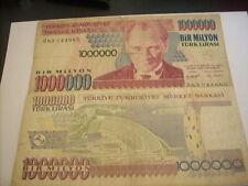 1000000 turk lirasi 1970 turquie
