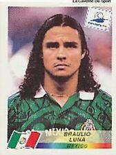 N°364 BRAULIO LUNA MEXICO PANINI WORLD CUP 1998 STICKER VIGNETTE 98
