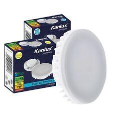 Kanlux LED Energy Saving 7w GX53 Lamp 2 Pin Light Bulb 6500k Cool white Kitchen