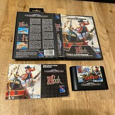 SEGA MEGADRIVE HOOK  BOXED WITH MANUAL PAL MEGA DRIVE Complete